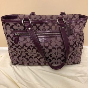 Large Coach Tote/Purse